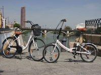 Alquiler de bicicleta plegable en Sevilla 1 día