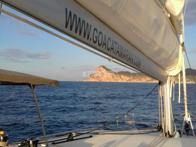 Alquiler catamaran