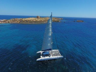 Tabarca Island Sailing Boat Trip + Paella, 6h