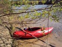 Kayak a due posti per navigare lungo la costa
