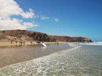 Eccellenti spiagge e vento