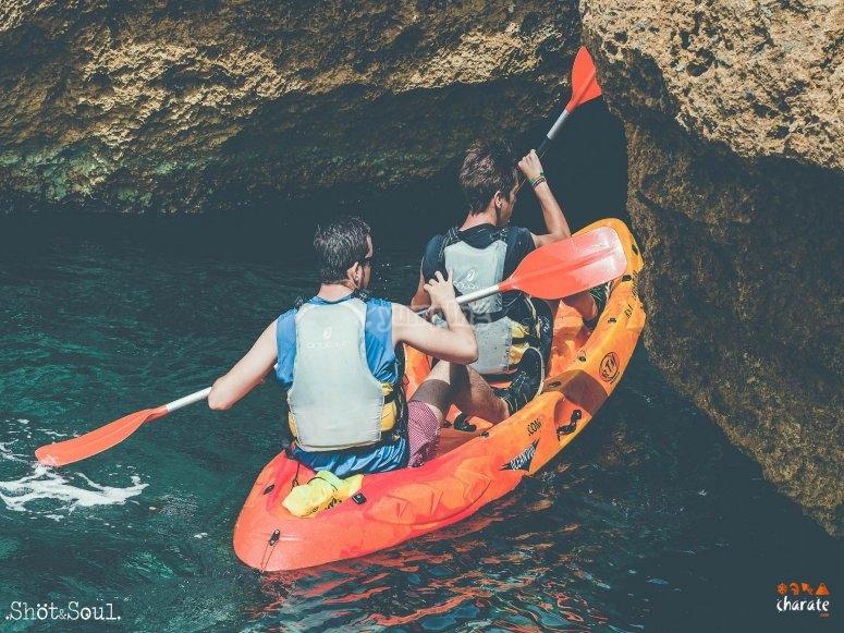 洞穴皮划艇