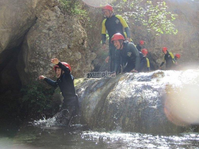 Barranquismo descensos