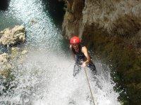 Sierra de Almijara的1级溪降