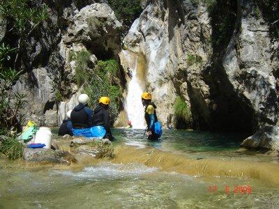 Sierra de Almijarra的3级溪降