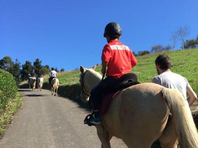Horse-Riding Route in Bilbao, 1h