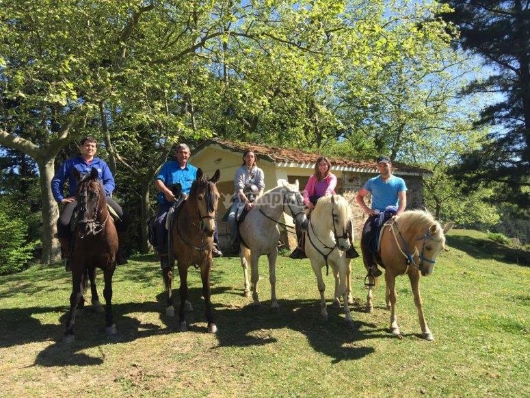 Salidas a caballo Vizcaya