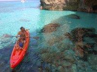Alquiler de kayak individuales y dobles