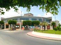 Di fronte alla Plaza de Toros de Vera