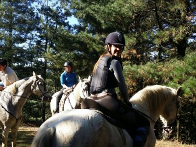 Paseo a caballo en Zaratamo 3 horas