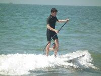 cogiendo las olas