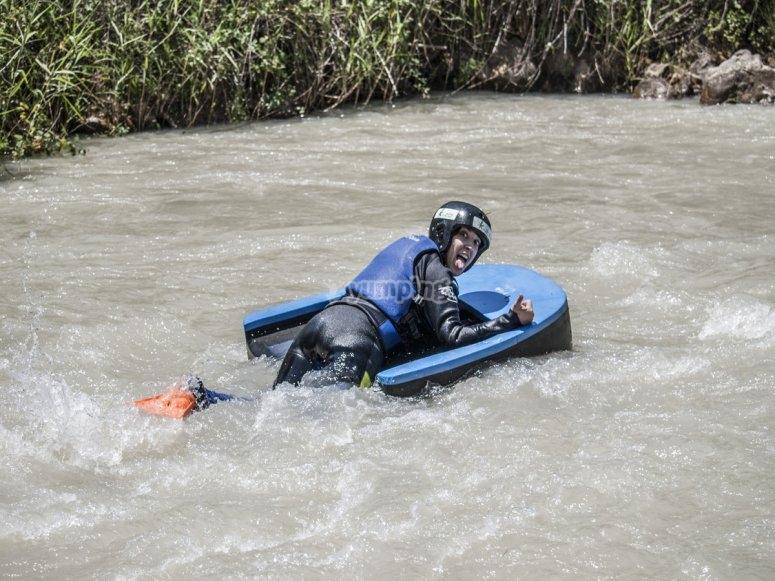 Paseo en hidrospeed