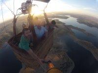Volo in mongolfiera a Cáceres 1 ora bambini