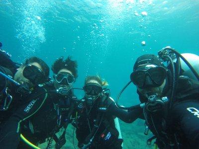 在大加那利岛潜水洗礼3小时