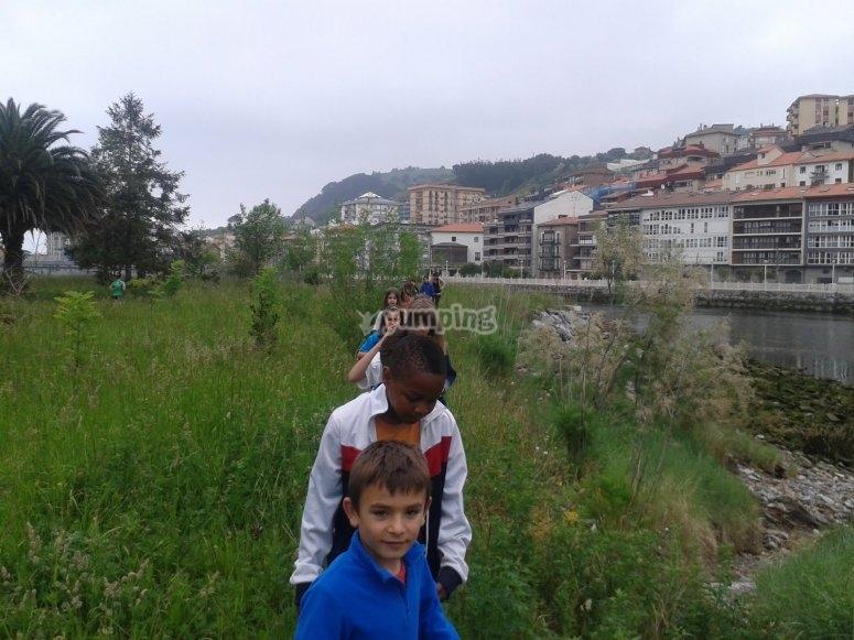 Campamento urbano