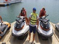 Ruta en moto de agua doble en Port Forum 40 min
