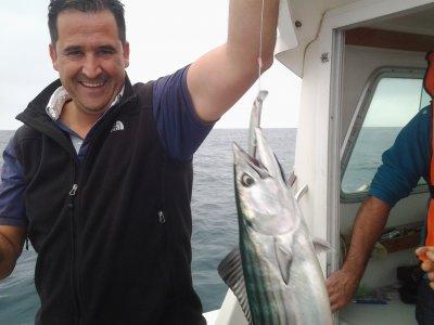 在Donostia的金枪鱼钓鱼之旅3个小时