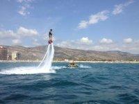 salto en flyboard