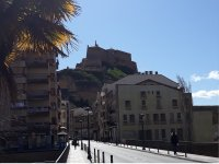 Walking through the streets of Huesca