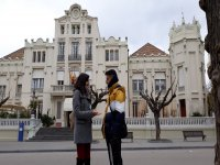 Guided visit to the Huesca casino building