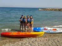 Alquiler de kayak doble en l'Ametlla de Mar 2h