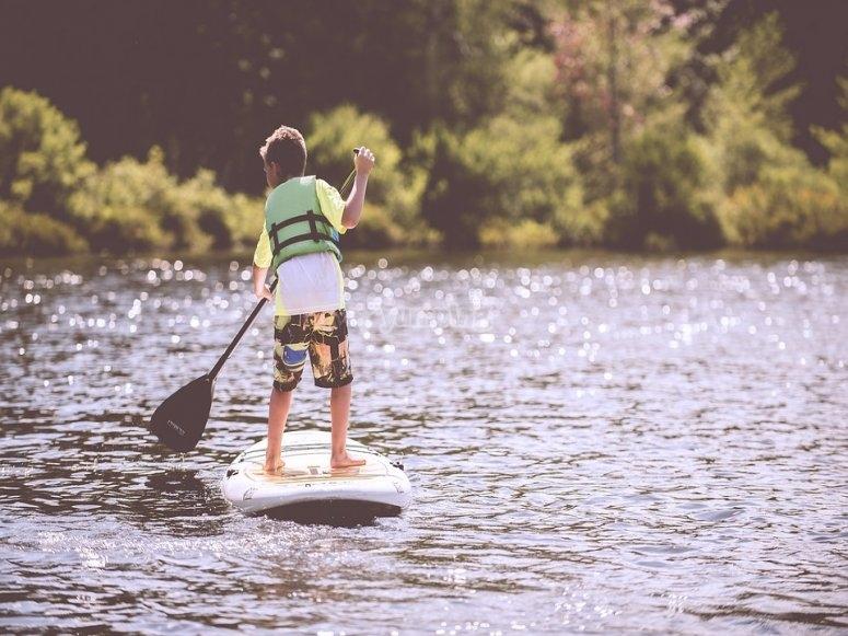 划桨冲浪启动