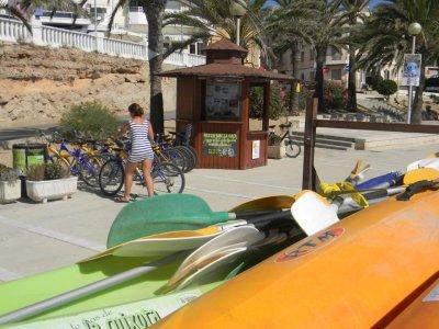 Alquiler bicicleta 1 dia en l'Ametlla de Mar