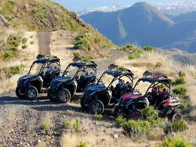 Ruta en buggy por montaña