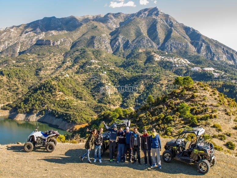 Excursión en buggy de montaña