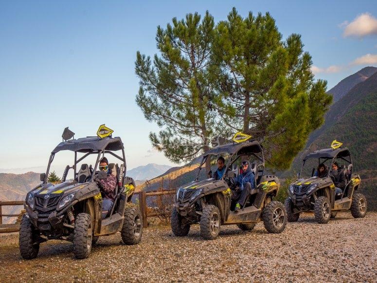 Excursión en buggy por la sierra