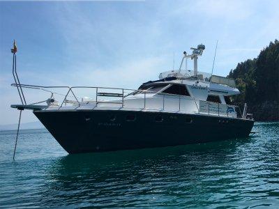 Alquiler de barco y flyboard en Vigo 8 horas