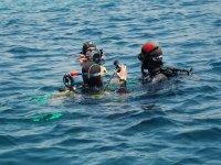 第一次在海里潜水