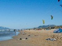 海滩上的风筝