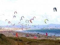 塔里法(Kari)的风筝冲浪