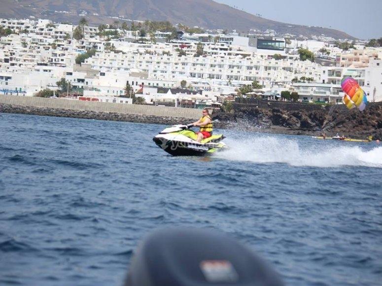 Recorriendo la costa de Lanzarote
