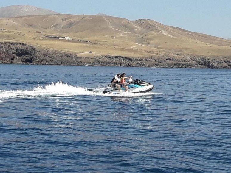 Excursion en moto de agua por Lanzarote