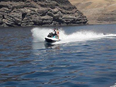 兰萨罗特岛2h的水摩托车路线2人
