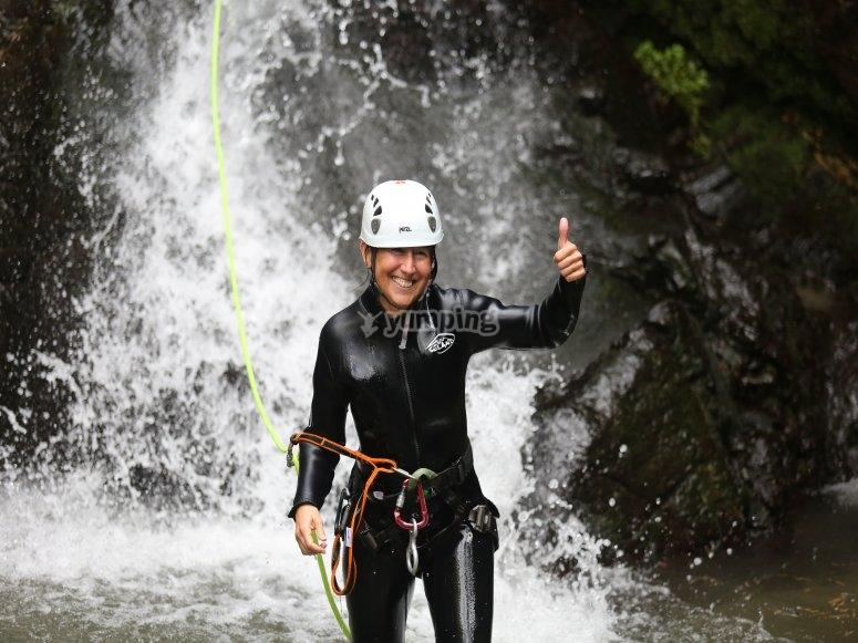 Descent the rapids