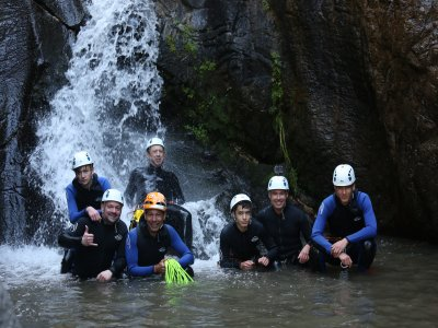 Stag party+rafting+canyoning in Lleida