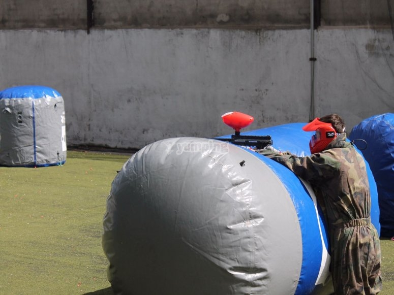 Campo de paintball rapido