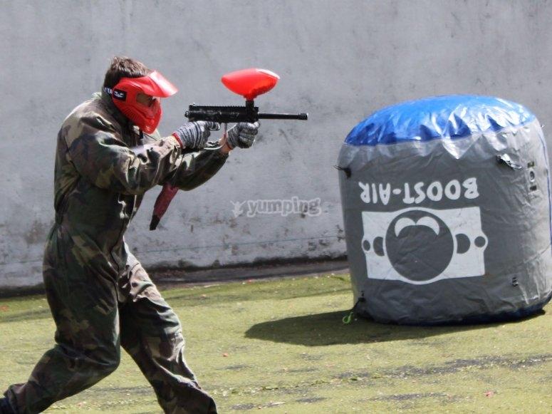 Disparando sin piedad