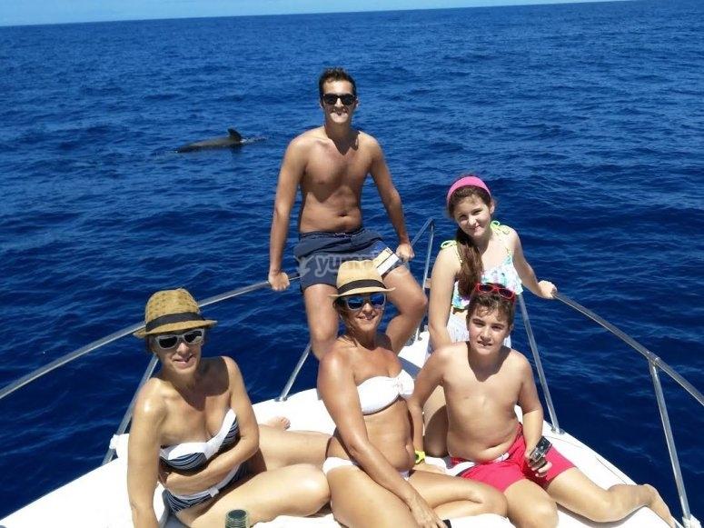 Disfrutando en Tenerife