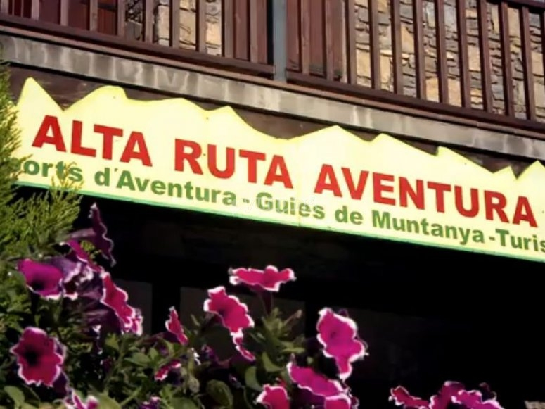 Entrance to Alta Ruta