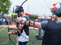 Archery tag en la gymkana