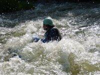 Practicando hidrospeed