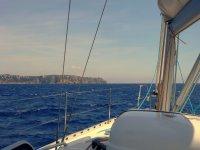 Desde la embarcación