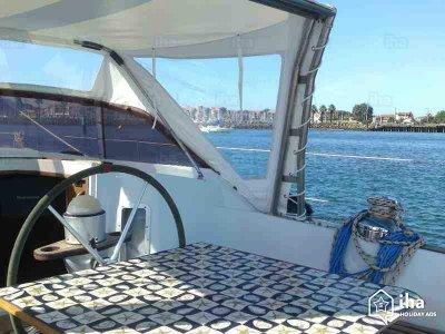 半天在Torrox租用帆船Mc Greg 26