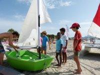 Curso de vela ligera para niños en Alcudia 5 días