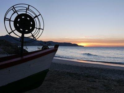 Pesca deportiva al tiento en Málaga 4 horas