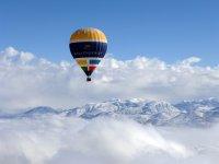 内华达山脉的气球